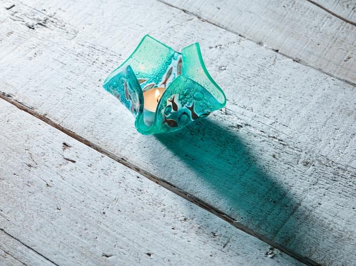 Bamaluz small green vase by Jo Downs