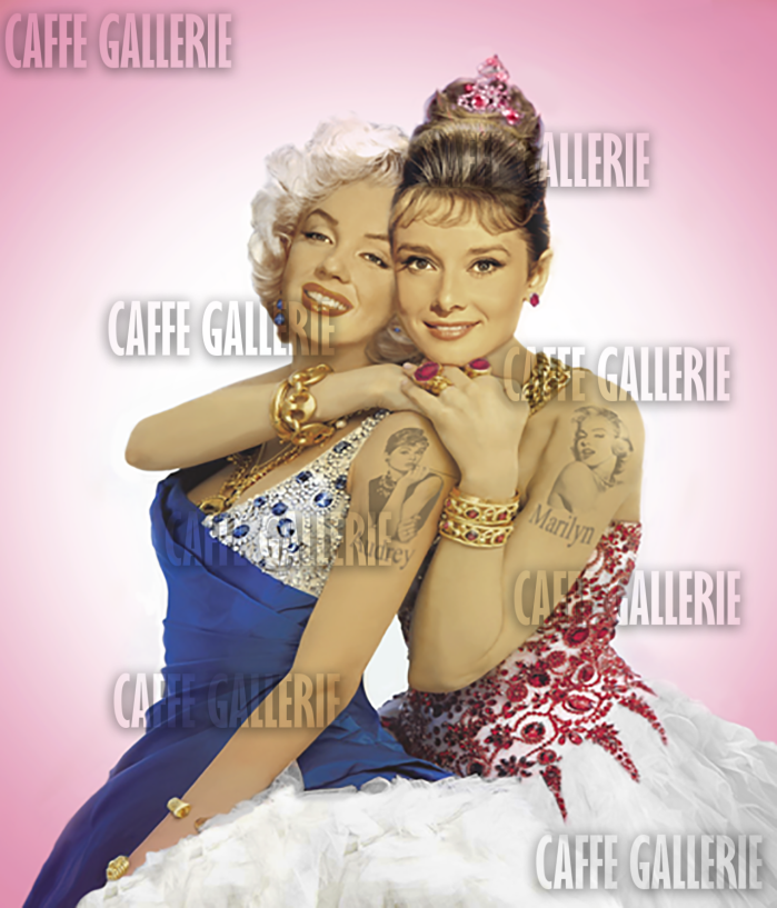 Marilyn and Audrey, Idols watermarked