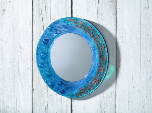 Jo Downs 38cm Round Mirror, £150