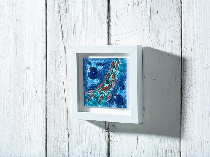 Polperro Medium Art Frame Blue_web